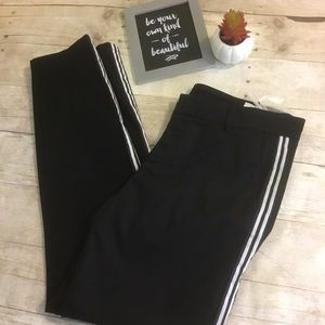 Kut from the Kloth Black White Striped Pants New!